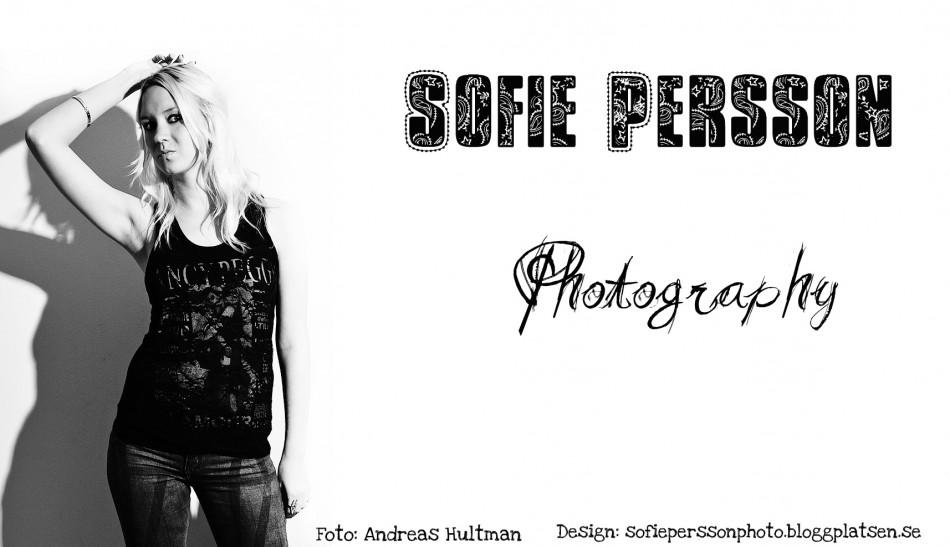 Sofie Persson, fotograf i Stockholm